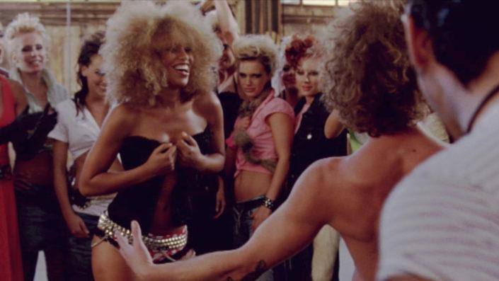 Szene aus Rockabilly, Musikvideo